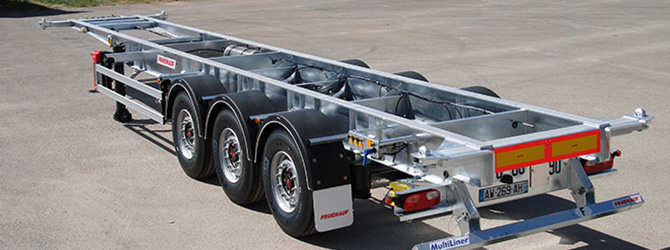 Galvanisation de chassis Remorque