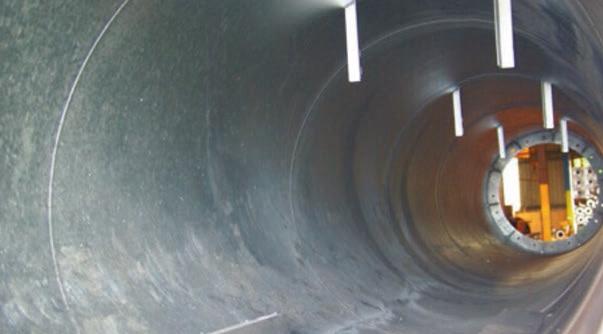 Tube traité par galvanisation à chaud