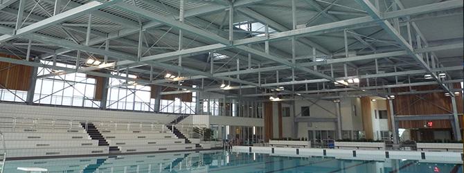 Galvanisation Charpente de piscine