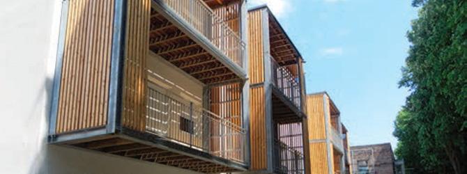 Galvanisation dans l'architecture